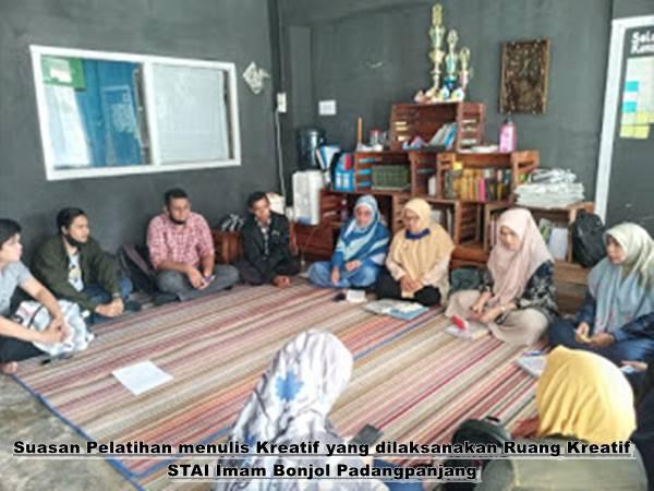 Hamasah Gelar Pelatihan Menulis Kreatif