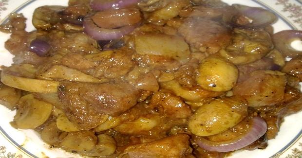 Special Pork Adobo With Mushroom Recipe