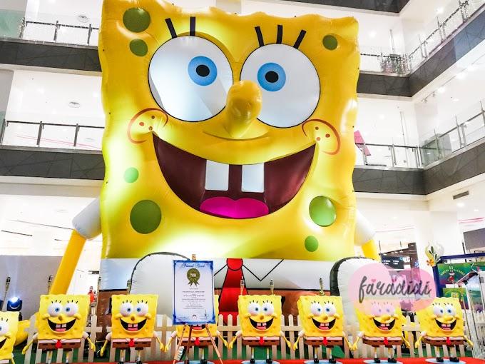 Wahhhh Spongebob Terbesar di Malaysia Ada Di Paradigm Mall Johor Bahru!