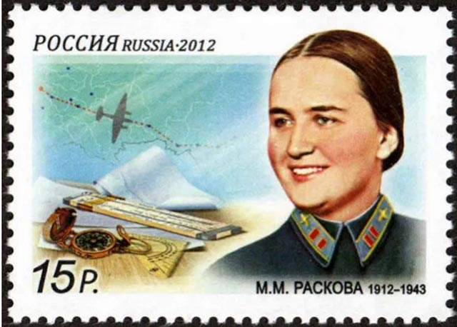 Marina Raskova, female military pilots of World War II worldwartwo.filminspector.com