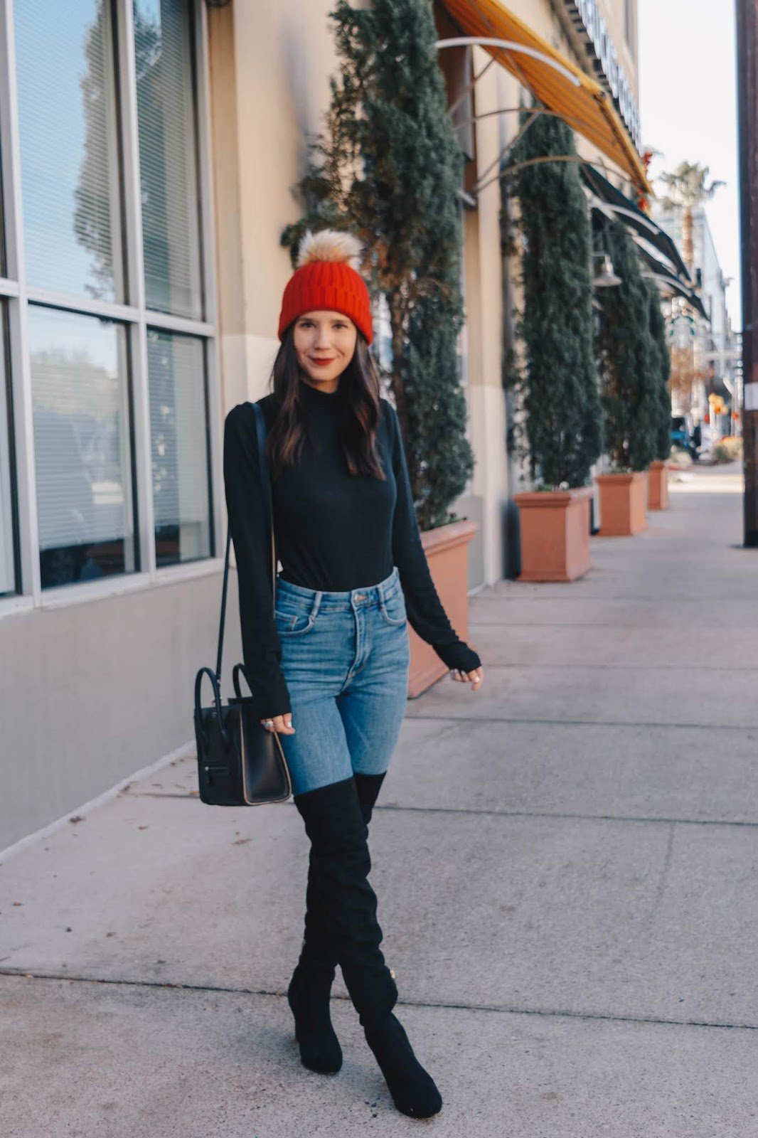 Simple outfit for winter