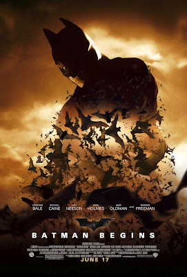 "Cartel de la película ""Batman Begins"""