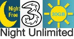 3 Italia, tariffe incluse in Night Unlimited: prezzo e condizioni