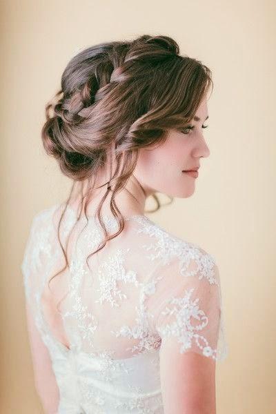 Bodas Colorin Colorado 70 Trenzas Para Inspirar Tu Peinado De - Peinado-novia-trenza