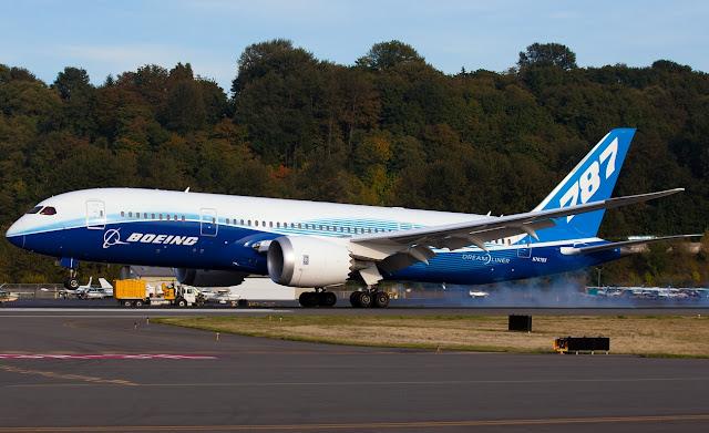 Boeing 787-8 Dreamliner MSN ZA003