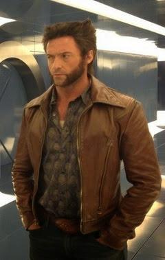 Gambar Jaket Kulit Wolverine Logan Retro
