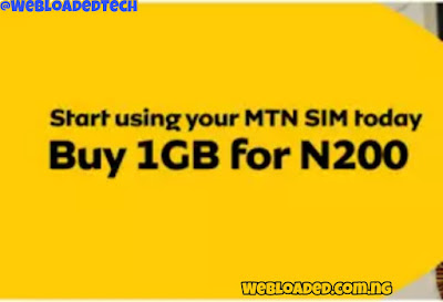 How to activate MTN 4GB for N1000 (30days