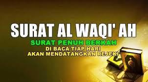 Asbabun Nuzul Surat Al-Waqi'ah