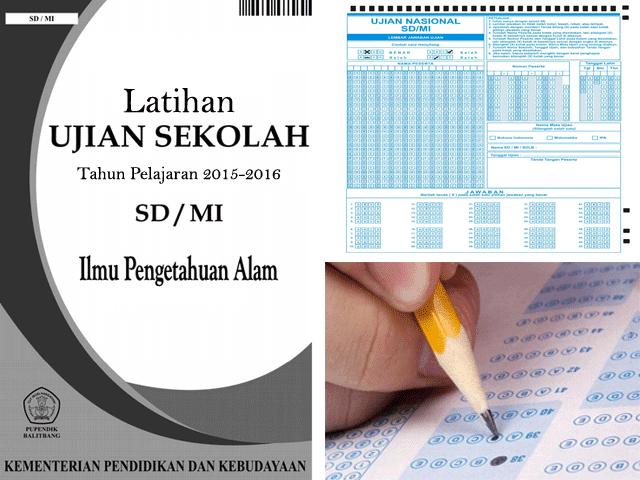 Soal Latihan Ujian Sekolah/Madrasah (US/M) SD/MI Lengkap