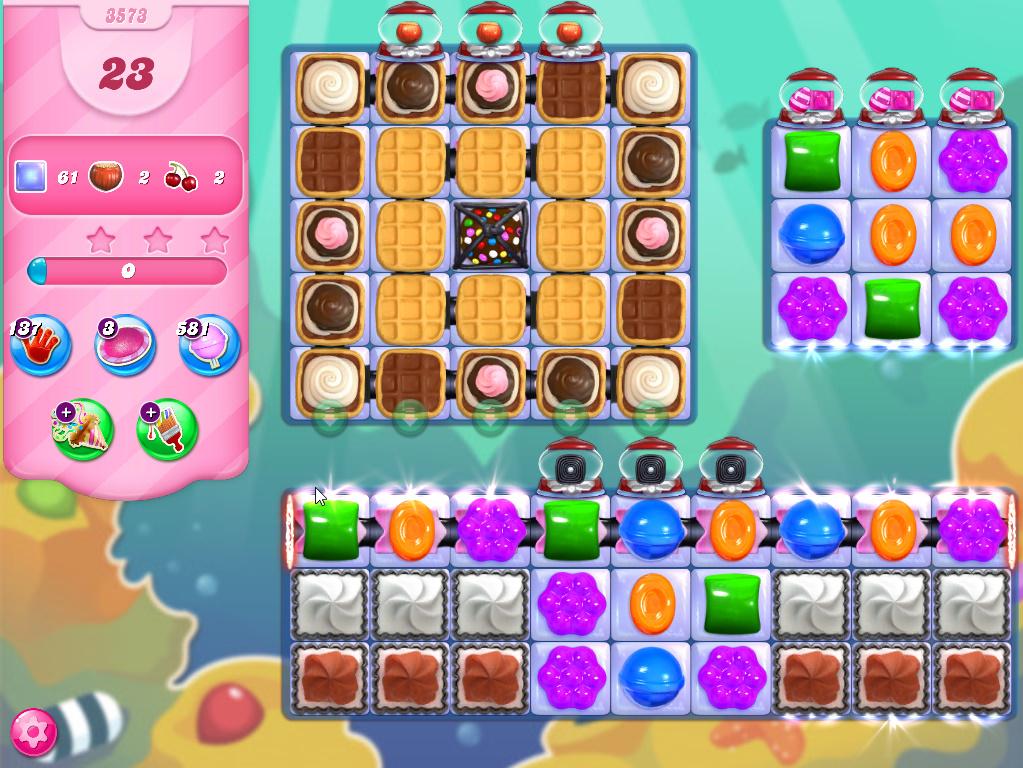 Candy Crush Saga level 3573