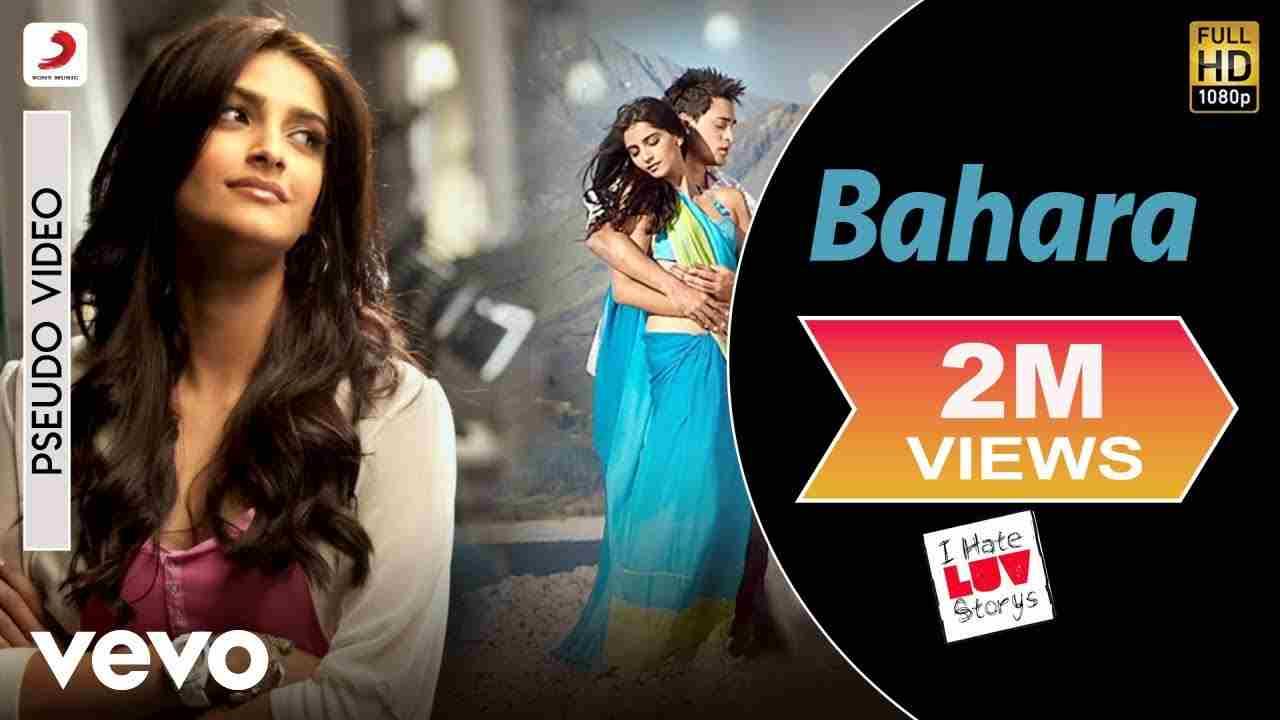 बहारा Bahara lyrics in Hindi I hate luv storys Shreya Ghoshal x Sona Mohapatra Hindi Bollywood Song