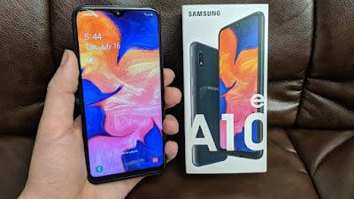 Cara Hard Reset Samsung Galaxy A10E