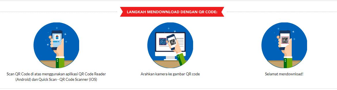 scan QR code lewat website blibli