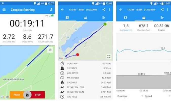 Aplikasi Olahraga Lari Terbaik tuk Android - Running & Jogging