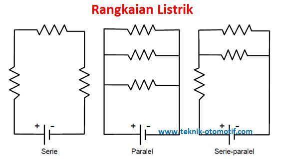 Listrik dasar sifat dan rangkaian listrik seri paralel serta rangkaian seri ccuart Image collections