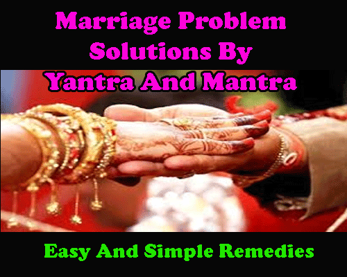 Powerful spell and yantra for marriage