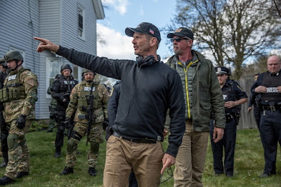 Peter Berg on the set of Patriots Day (7)
