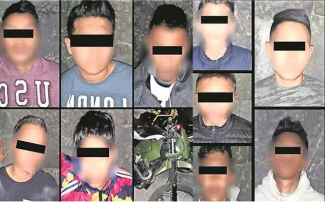 """""""MOCOSO"""" de 16 AÑOS LIDERABA MINI-CELULA de la BANDA de los """"MAZOS"""""""