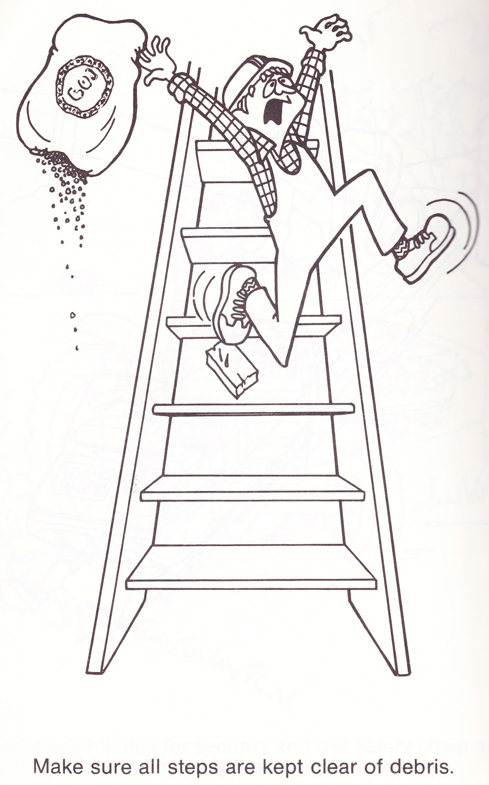 safety warning coloring pages for kids - photo #35
