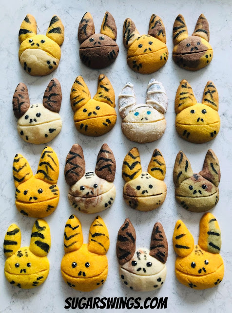 Loth cat cookies