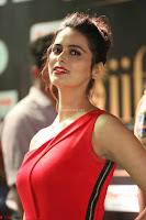Meenakshi Dixit in Red One Shoulder Red Zipped up gown at IIFA Utsavam Award 53.JPG