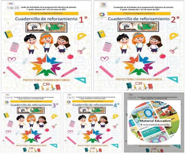 📖 Aprende en Casa SEP - Cuadernillo de Actividades de Aprende en Casa SEP - Multigrado - Semana 33 ✅🥇