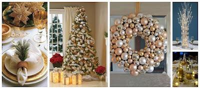decoración-navideña-dorado