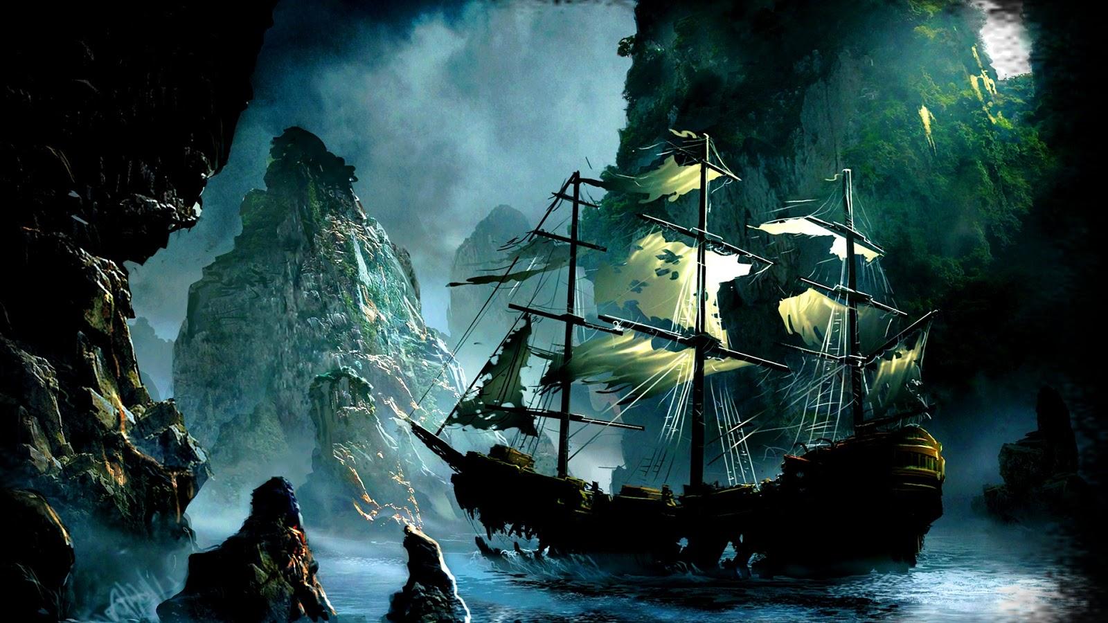 trésor pirate perdu
