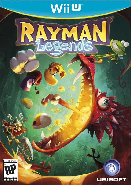 Let's Play Rayman Legends game Wii U online