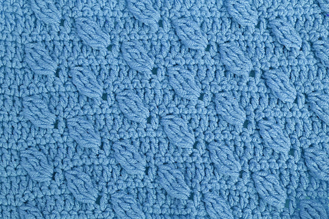 6-Crochet Imagenes Puntada de hojas a relieves a crochet y ganchillo por Majovel Crochet