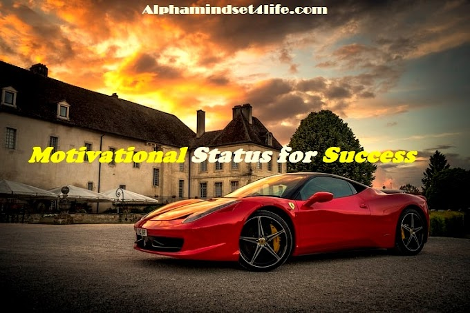 Top 100 Motivational Status in Hindi For Whatsapp, Instagram, Sharechat - Alphamindset4life