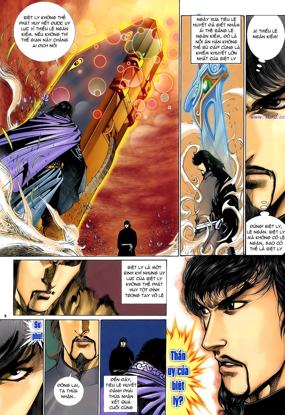 Anh hùng vô lệ Chap 29 trang 9
