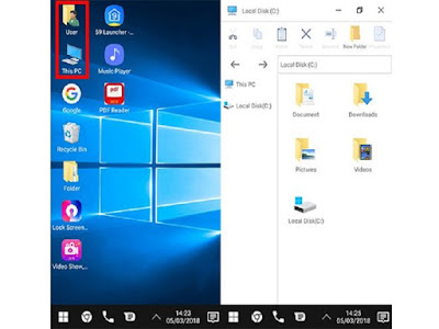 Cara Install windows 10 di smartphone android