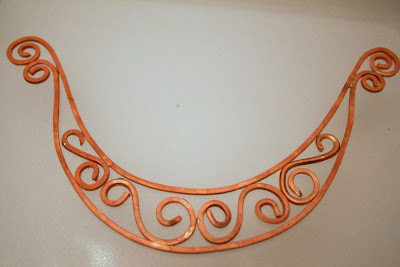 Challenge of Music: Flowing music in copper :: All Pretty Things