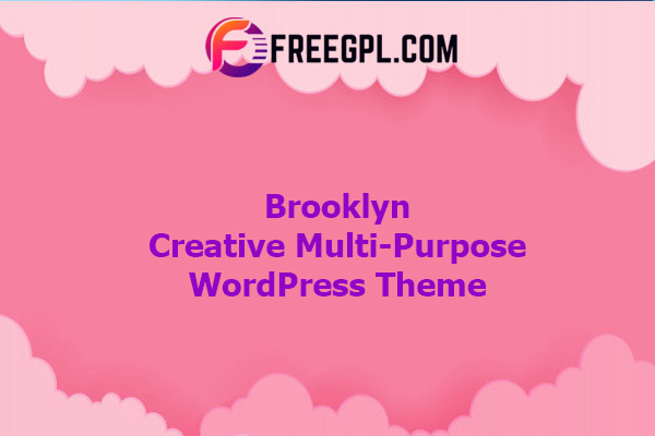 Brooklyn | Creative Multi-Purpose Responsive WordPress Theme Nulled Download Free