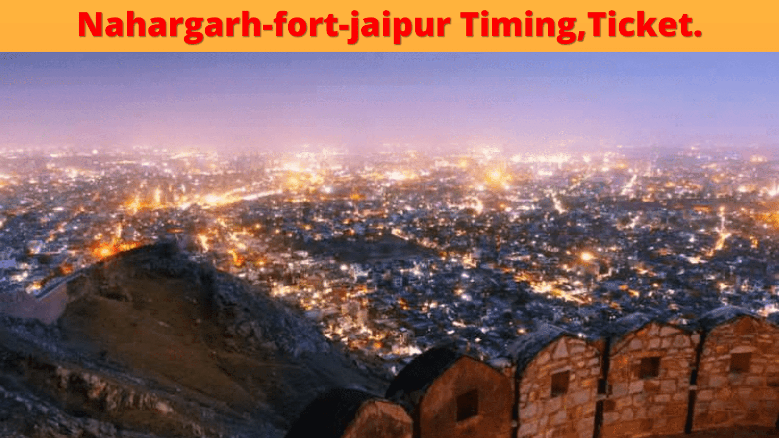 nahargarh-fort,timing,ticket