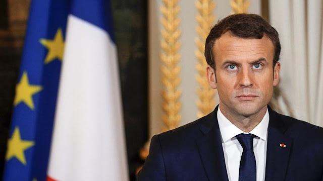 فضيحة من العيار الثقيل نهار اليوم الرئيس الفرنسي  ماكرون