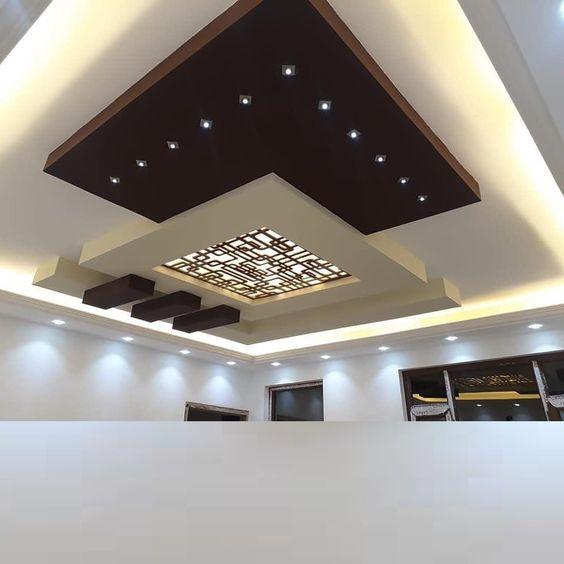 سقف هندسي مذهل