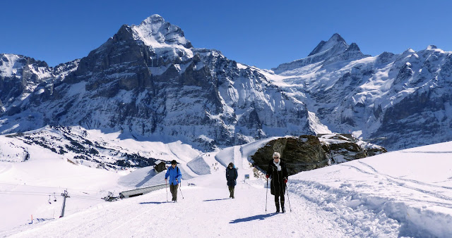 First to Lake Bachalpsee, Grindelwald