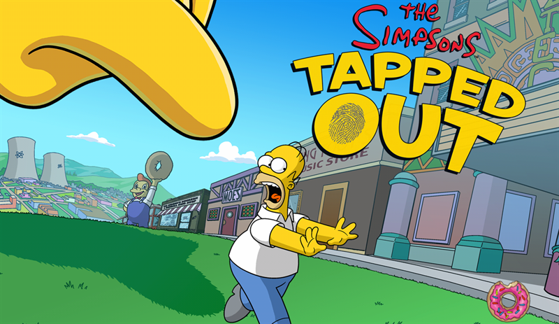 The Simpsons Tapped Out Download Poster