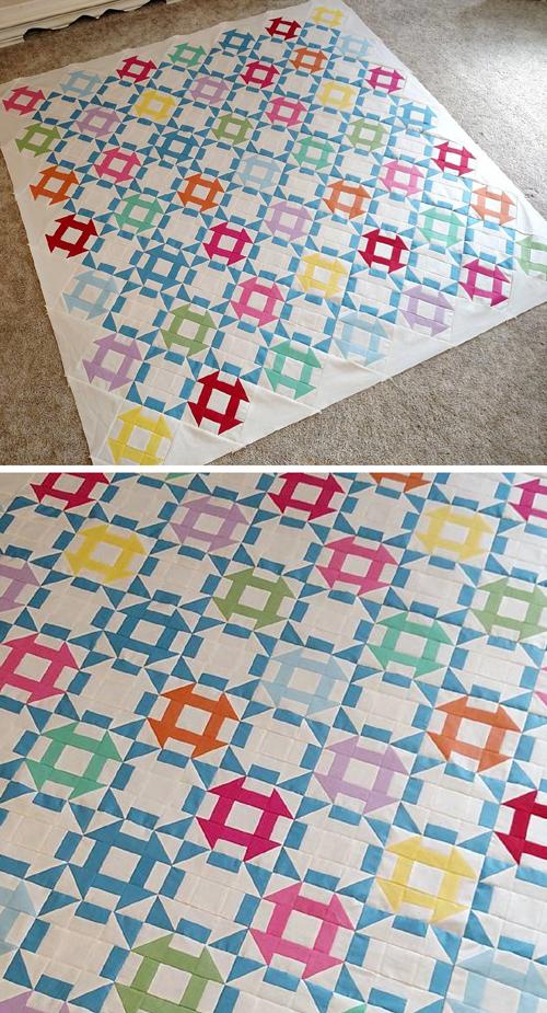 Vintage Crayola Quilt - Free Pattern