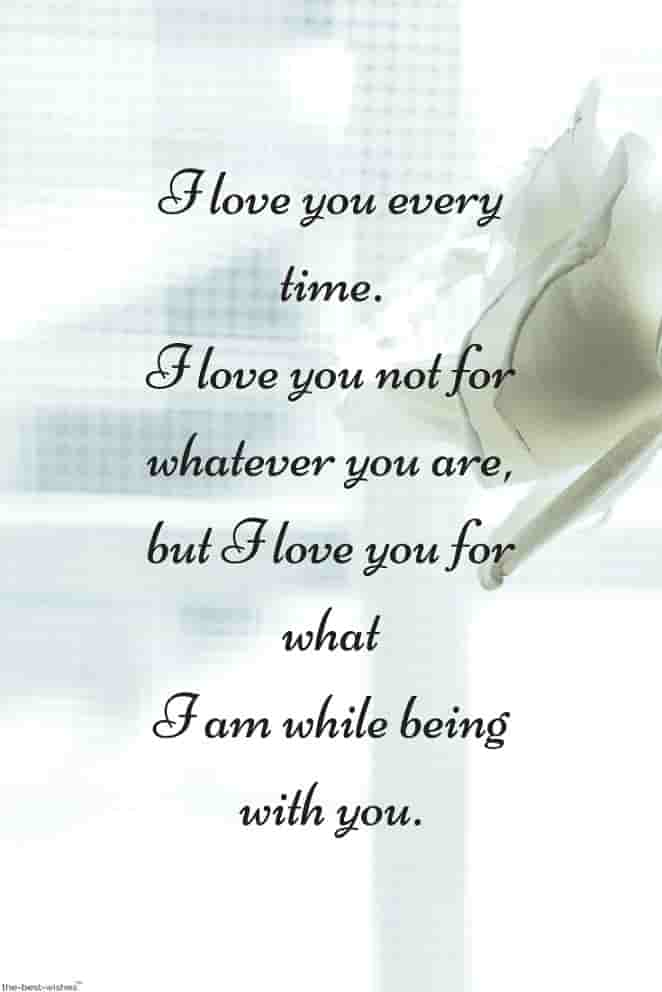 i love you quotes for him from the heart with white rose
