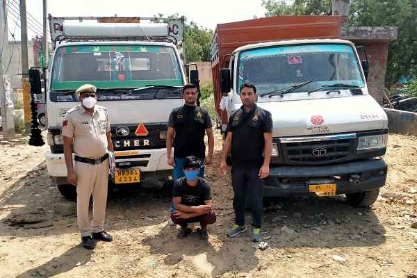 faridabad-crime-branch-uncha-gaon-arrested-mewati-chor-rahul