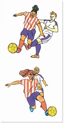 Temporada de rosas de Chloé Wary comic futbol chicas