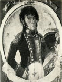 "General FRANCISCO ORTIZ DE OCAMPO ""1er General de la Guerra de Independencia"" (1771-†1840)"