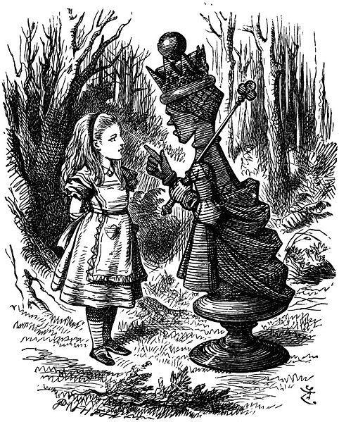 Ilclanmariapia alice prima e dopo - Alice dietro lo specchio ...