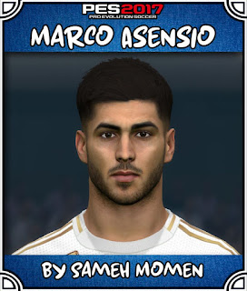 PES 2017 Faces Marco Asensio by Sameh Momen