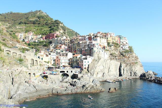 Manarola, Cinque Terre, Sentiero Azurro, Unesco World Heritage, Patrimoni de la Humanitat, Italia