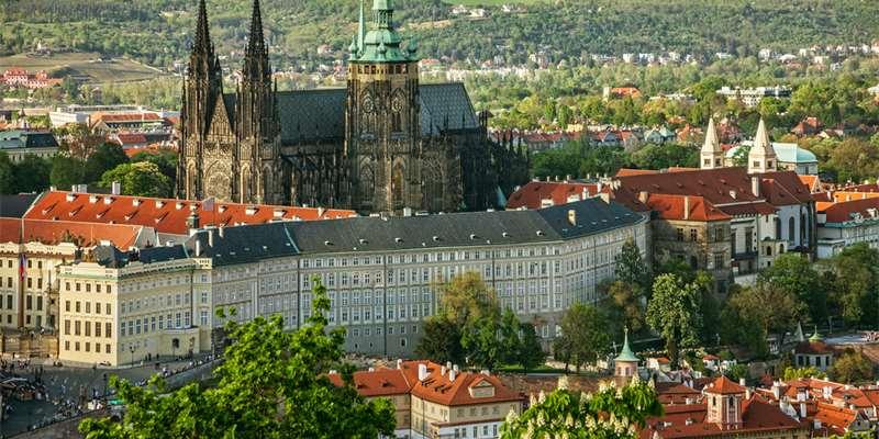 Prague The Castle Most Instagrammed castle - Moniedism