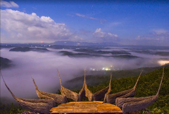 Wisata Negeri di Atas Awan di Gunung Kidul